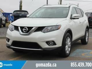 Used 2016 Nissan Rogue SV AWD TECH NAVIGATION POWER OPTIONS SUNROOF ACCIDENT FREE for sale in Edmonton, AB