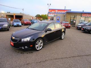Used 2014 Chevrolet Cruze 2LT W RS PACKAKE LEATHER ROOF for sale in Brampton, ON