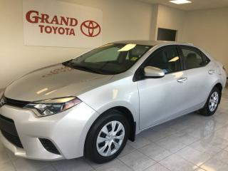 Used 2015 Toyota Corolla CE for sale in Grand Falls-windsor, NL