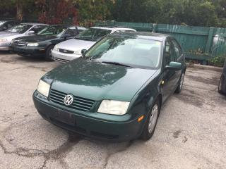 Used 1999 Volkswagen Jetta GLS for sale in Toronto, ON