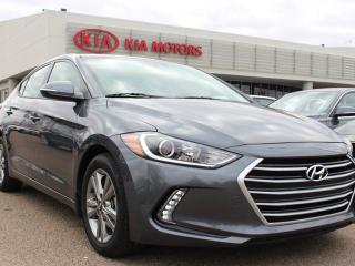 Used 2017 Hyundai Elantra LIMITED, HEATED SEATS, HEATED WHEEL, BACKUP CAM, BLUETOOTH, CRUISE CONTROL, AUX/USB for sale in Edmonton, AB