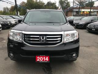 Used 2014 Honda Pilot Touring NAVIGATION DVD LEATHER SUNROOF NO ACCIDENT for sale in Brampton, ON