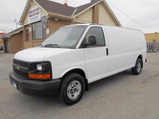 Used 2009 Chevrolet Express 3500 CARGO Extended 1Ton Divider A/C Rear Heat Safety for sale in Etobicoke, ON