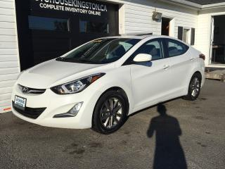 Used 2014 Hyundai Elantra GLS for sale in Kingston, ON