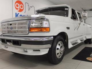 Used 1993 Ford F-350 XL- It may be old but its a killer ride! Look at it! It's like driving a couch on wheels! for sale in Edmonton, AB