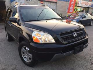 Used 2005 Honda Pilot EX-L 7_Seater_Leather_Sunroof for sale in Oakville, ON