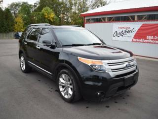 Used 2013 Ford Explorer XLT 4dr 4x4 w/ Leather/Navi/Sunroof for sale in Brantford, ON