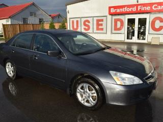 Used 2007 Honda Accord EX-L 4dr Sedan for sale in Brantford, ON
