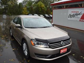 Used 2015 Volkswagen Passat 1.8 TSI Trendline 4dr Sedan for sale in Brantford, ON
