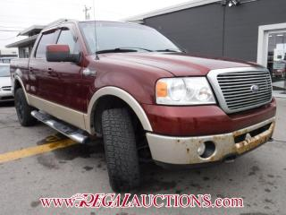 Used 2007 Ford F150 KING RANCH SUPERCREW 4WD for sale in Calgary, AB
