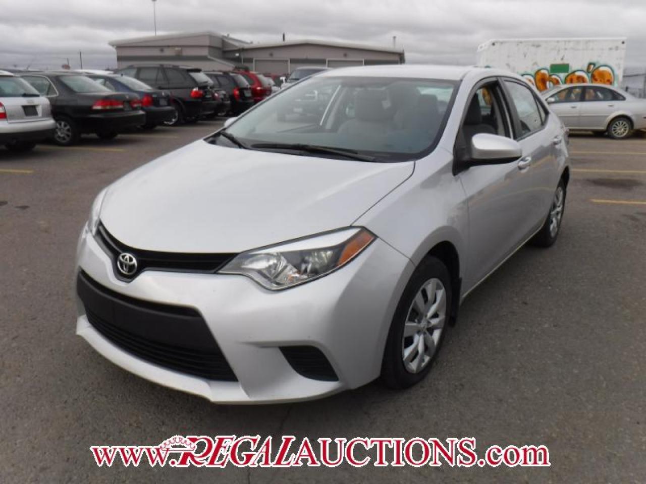 2014 Toyota COROLLA LE 4D SEDAN AT 1.8L