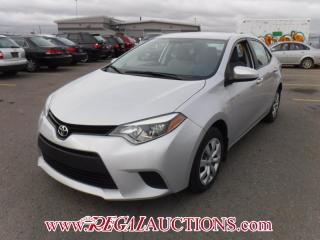 Used 2014 Toyota COROLLA LE 4D SEDAN AT 1.8L for sale in Calgary, AB
