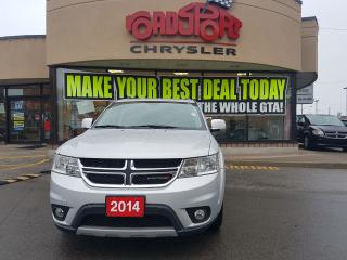 Used 2014 Dodge Journey SXT NAVI P-ROOF DVD V6 7 RIDER AUTO START for sale in Scarborough, ON