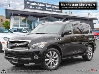 Used 2012 Infiniti QX56 4X4 ULTRA PREMIUM |NAV|DVD|CAMERA|7PASS|PHONE for sale in Scarborough, ON