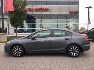 Used 2013 Honda Civic Touring for sale in Barrie, ON