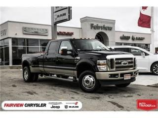 Used 2009 Ford F-350 King Ranch//Diesel/Dually/Loaded for sale in Burlington, ON