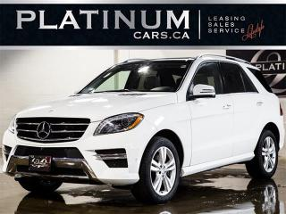Used 2014 Mercedes-Benz ML 350 BlueTEC, NAVI, CAM, PANO, HEATED LTHR for sale in Toronto, ON