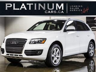 Used 2012 Audi Q5 2.0T QUATTRO PREMIUM, SUNROOF, PWR HATCH for sale in North York, ON