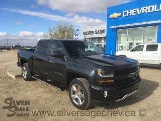 New 2017 Chevrolet Silverado Z71 1500 4WD LT Crew True North Edition Z71 LT2 w/Leather for sale in Shaunavon, SK