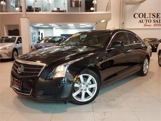 Used 2014 Cadillac ATS 2.5L-LEATHER-BLUETOOTH-ONLY 73KM for sale in York, ON