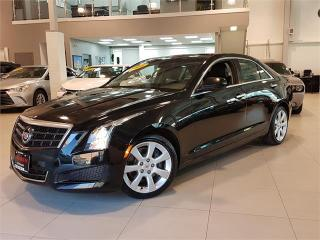 Used 2014 Cadillac ATS 2.0L TURBO-CAMERA-LEATHER-ONLY 84KM for sale in York, ON