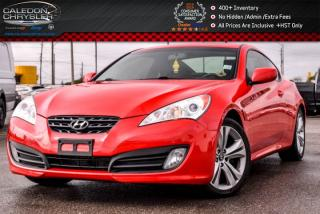Used 2011 Hyundai Genesis Coupe Premium|Pwr Sunroof|Bluetooth|Leather|Heated Front Seats|19