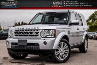 Used 2013 Land Rover LR4 4x4|Duale Pane Sunroof|Bluetooth|Leather|Heated Front & Rear Seats|19