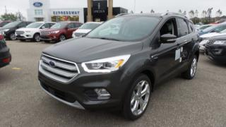 New 2018 Ford Escape Titanium, 4WD, Lthr, Pano Roof, Nav for sale in Stratford, ON