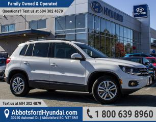 Used 2015 Volkswagen Tiguan Trendline BC OWNED & GREAT CONDITION for sale in Abbotsford, BC