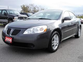 Used 2006 Pontiac G6 BASE for sale in Bolton, ON