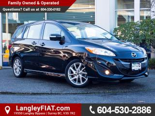 Used 2017 Mazda MAZDA5 GT ONE OWNER, B.C OWNED for sale in Surrey, BC