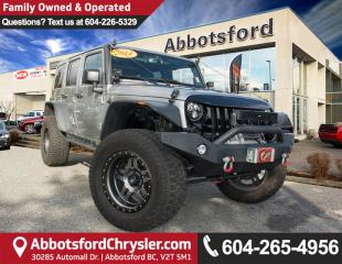 Used 2014 Jeep Wrangler Unlimited Sahara ACCIDENT FREE for sale in Abbotsford, BC