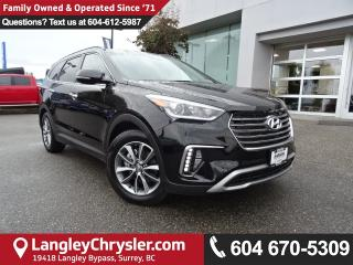 Used 2017 Hyundai Santa Fe XL Limited *ACCIDENT FREE*ONE OWNER*LOCAL BC SUV* for sale in Surrey, BC