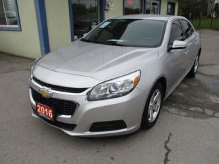 Used 2016 Chevrolet Malibu POWER EQUIPPED 1-LT MODEL 5 PASSENGER 2.5L - DOHC.. LEATHER TRIM.. TOUCH SCREEN.. BLUETOOTH SYSTEM.. CD/AUX/USB INPUT.. for sale in Bradford, ON