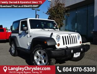 Used 2013 Jeep Wrangler Sport *LOCAL BC JEEP* DEALER INSPECTED* for sale in Surrey, BC