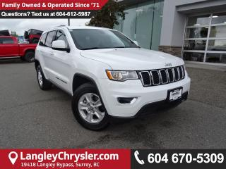 Used 2017 Jeep Grand Cherokee Laredo *ACCIDENT FREE * DEALER INSPECTED * CERTIFIED * for sale in Surrey, BC
