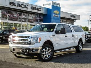 Used 2013 Ford F-150 XLT, CREW CAB, XTR W/ BED CAP for sale in Ottawa, ON