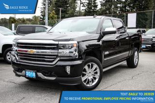 New 2018 Chevrolet Silverado 1500 High Country Navigation, Sunroof, and Heated Seats for sale in Port Coquitlam, BC