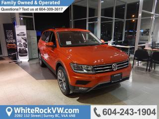 New 2018 Volkswagen Tiguan Trendline for sale in Surrey, BC