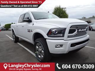 New 2018 Dodge Ram 3500 Laramie LARAMIE Sport Appearance Group for sale in Surrey, BC