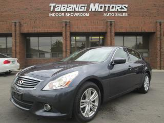 Used 2010 Infiniti G37 X AWD PREMIUM LEATHER SUNROOF! for sale in Mississauga, ON