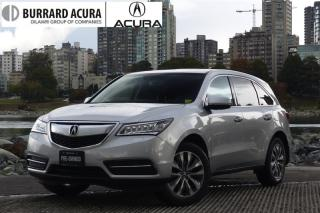 Used 2014 Acura MDX Navigation at LEATHER/SUNROOF/BLUETOOTH!130,000KM WARRANTY! for sale in Vancouver, BC