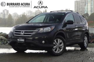 Used 2012 Honda CR-V Touring 4WD Leather & Sunroof! for sale in Vancouver, BC