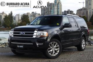 Used 2015 Ford Expedition Limited Max Local, Low KM!! Very Nice *SUV*! for sale in Vancouver, BC