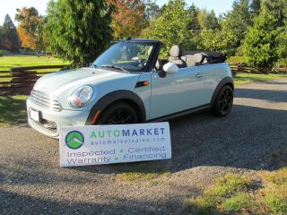 Used 2014 MINI Cooper Auto, Mint, Warr, Conv for sale in Surrey, BC