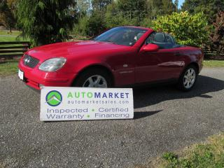 Used 1997 Mercedes-Benz SLK230 Mint, Rare, Insp, Warr for sale in Surrey, BC