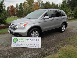 Used 2007 Honda CR-V EX-L 4WD Insp, Warr, Finance for sale in Surrey, BC
