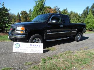 Used 2005 GMC Sierra 2500 HD SLT, DURAMAX,WARRANTY for sale in Langley, BC