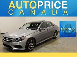 Used 2015 Mercedes-Benz E-Class E400 NAVI PANOROOF REAR CAM for sale in Mississauga, ON