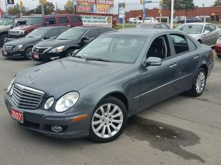 Used 2007 Mercedes-Benz E-Class 3.0L for sale in Brampton, ON